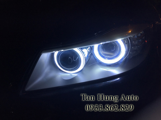 Độ Đèn Angel Eyes Cho Xe Bmw 320i 01
