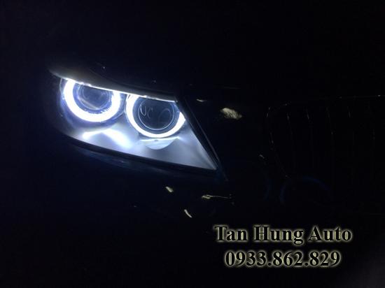 Độ Đèn Angel Eyes Cho Xe Bmw 320i
