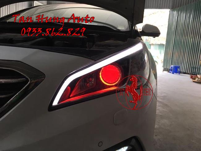 Độ Đèn Xe Hyundai Sonata 2016, 2017 Chuyên Nghiệp 01