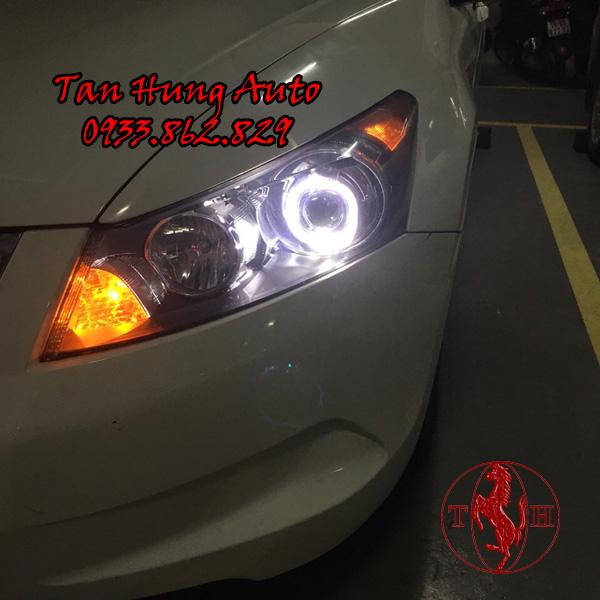 Độ Đèn Angel Eyes xe Honda Accord 2008 01