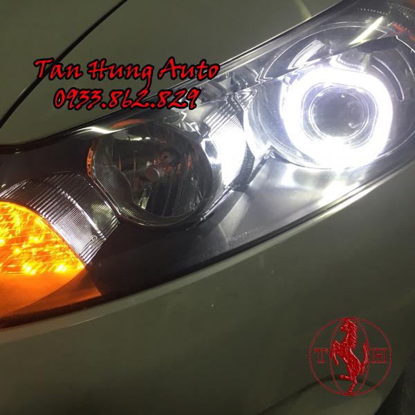 Độ Đèn Angel Eyes xe Honda Accord 2008