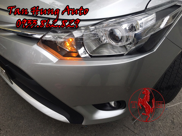 Độ Đèn Bixenon Toyota Vios 2016, 2017