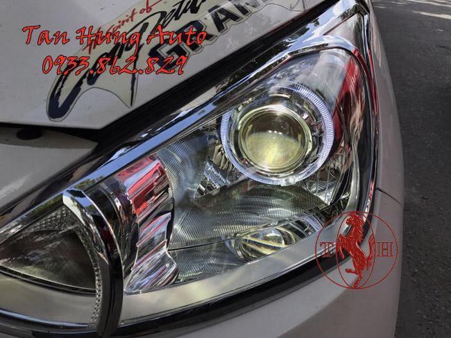 Độ Đèn Bi Xenon Xe Hyundai i10 Chuyên Nghiệp 01