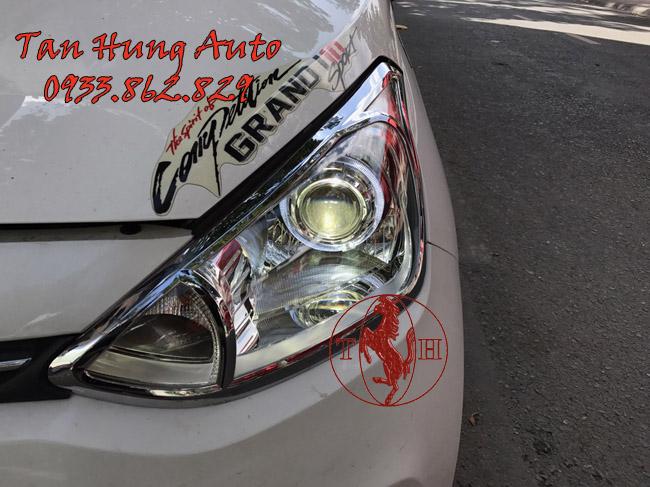 Độ Đèn Bi Xenon Xe Hyundai i10 Chuyên Nghiệp