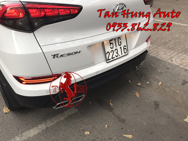 Độ Đèn Cản Sau Xe Hyundai Tucson Tại Tphcm 01