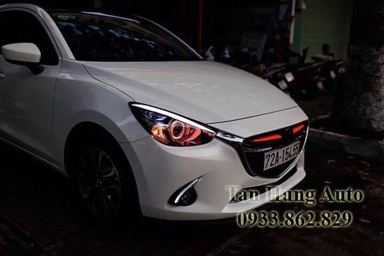 Độ Đèn Cho Xe Mazda 2 2016, 2017 Tại Tphcm 02
