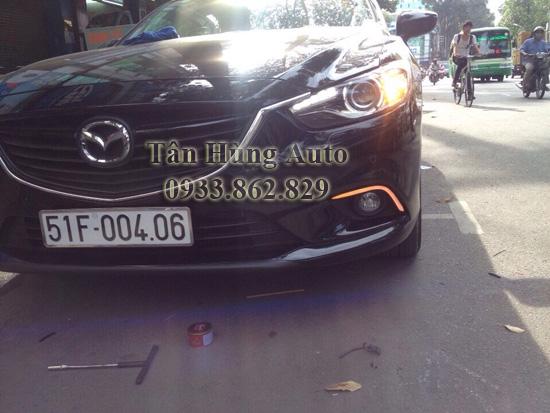 Độ Đèn Cho Xe Mazda6 Chuyên Nghiệp
