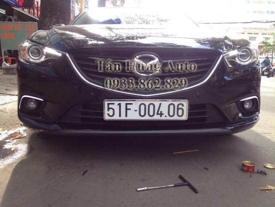 Độ Đèn Cho Xe Mazda6 Chuyên Nghiệp 01