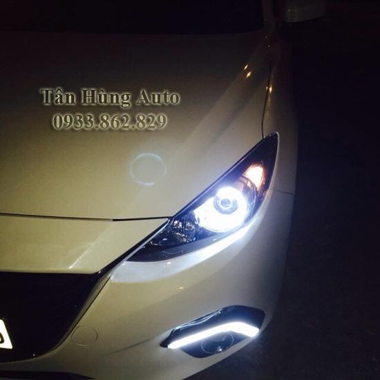 Độ Đèn Cho Xe Mazda3 2014 Chuyên Nghiệp