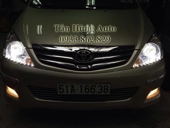 Độ Đèn Xe Toyota Innova Chuyên Nghiệp 01