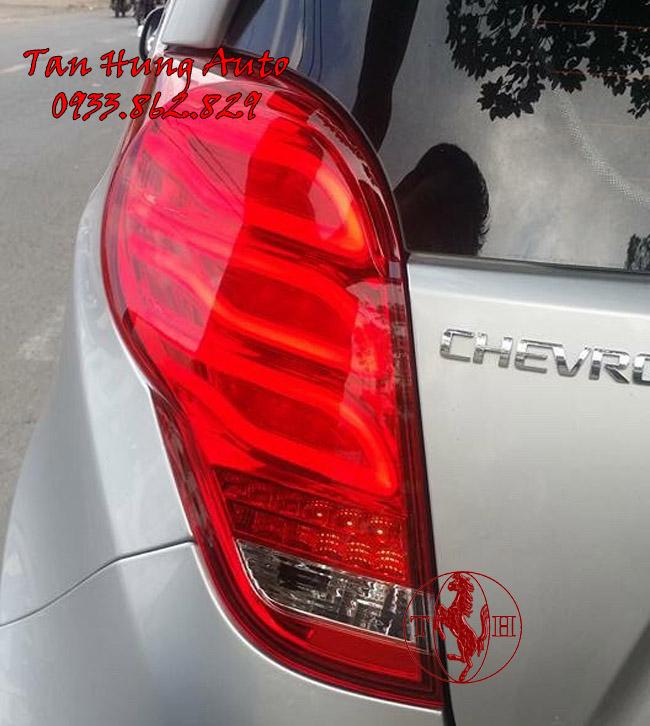 Độ Đèn Hậu Chevrolet Spark 2016, 2017 Kiểu Mercedes