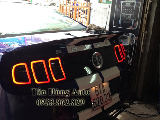 Độ Đèn Hậu Ford Mustang Chuyên Nghiệp Uy Tín 02