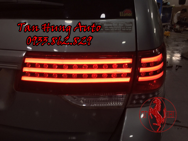 Độ Đèn Hậu Honda Odyssey 2010 Chuyên Nghiệp 01