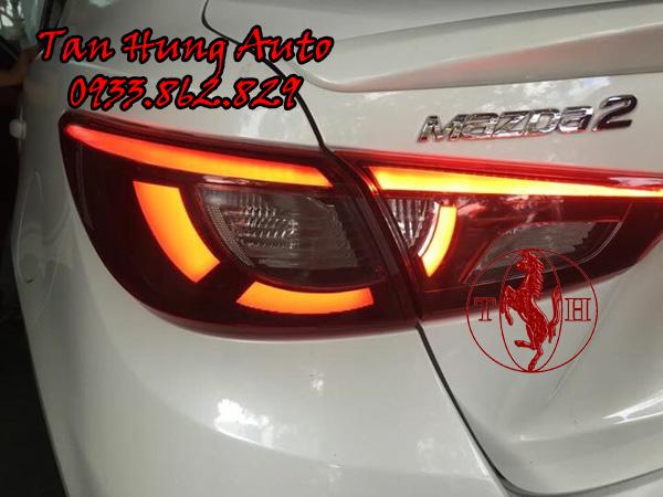 Độ Đèn Hậu Mazda 2 Chuyên Nghiệp Tại Tphcm 02