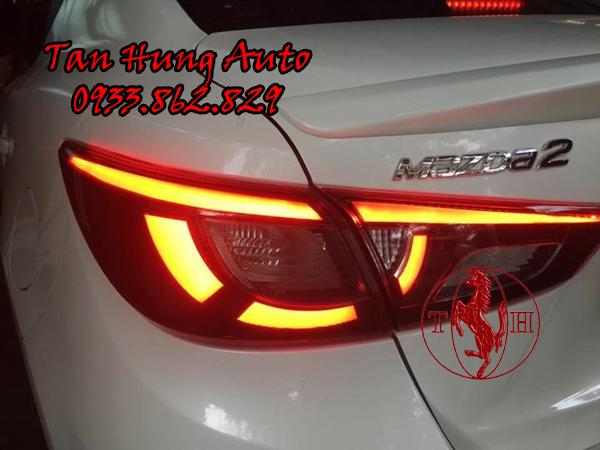 Độ Đèn Hậu Mazda 2 Chuyên Nghiệp Tại Tphcm