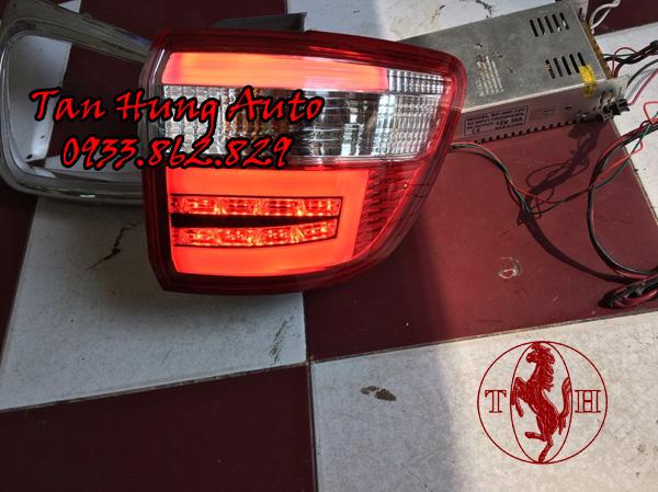Độ Đèn Hậu Toyota Fortuner 2010 Chuyên Nghiệp