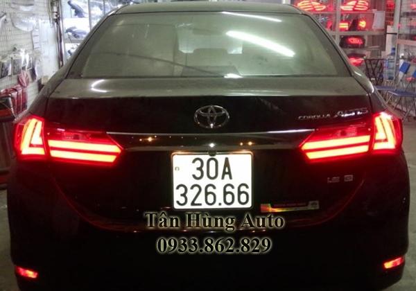Độ Đèn Hậu Xe Toyota Alits Chuyên Nghiệp