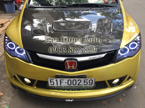 Độ Đèn Honda Civic Chuyên Nghiệp Tại Tphcm 01