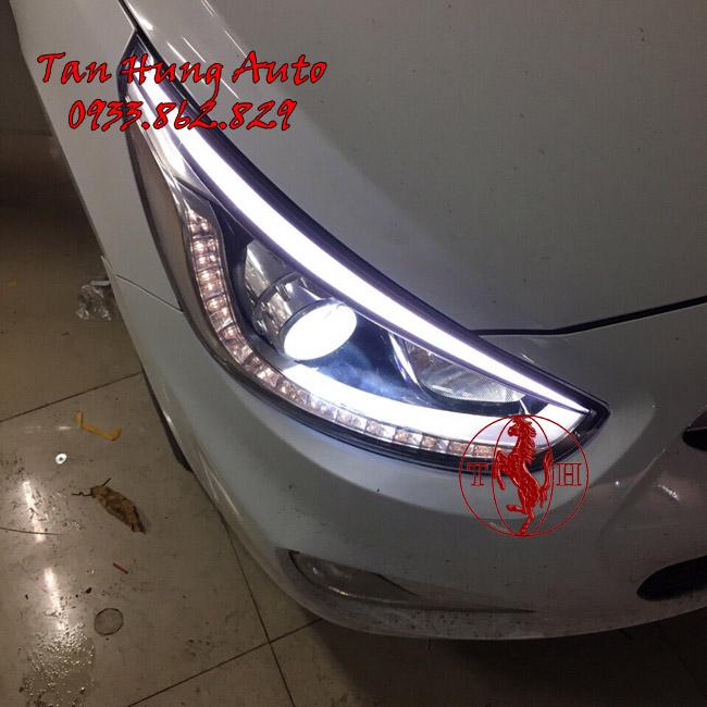 Độ Đèn Hyundai Accent 2016 Chuyên Nghiệp Tại Tphcm 01