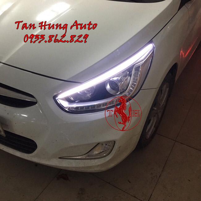 Độ Đèn Hyundai Accent 2016 Chuyên Nghiệp Tại Tphcm 02