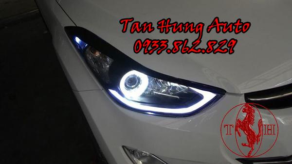 Độ Đèn Hyundai Avante Chuyên Nghiệp Tại Tphcm 01