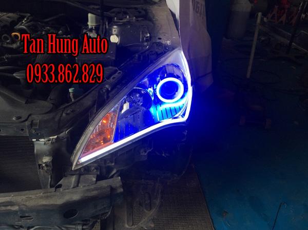 Độ Đèn Led Hyundai Genesis Chuyên Nghiệp Tại Tphcm