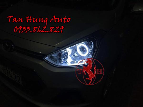 Độ Đèn Hyundai i10 Chuyên Nghiệp Tại Tphcm 01