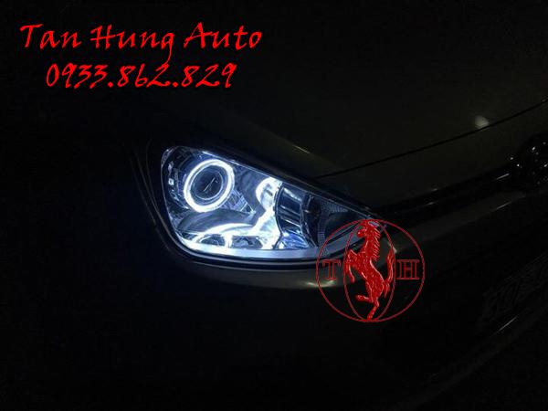Độ Đèn Hyundai i10 Chuyên Nghiệp Tại Tphcm