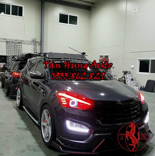 Độ Đèn Hyundai Santafe Chuyên Nghiệp Tại Tphcm 01