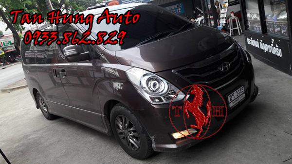 Độ Đèn Hyundai Starex Chuyên Nghiệp Tại Tphcm