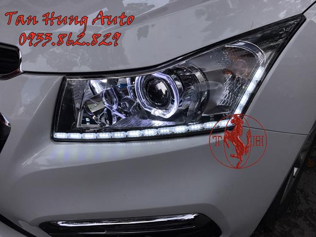 Độ Đèn Led Chevrolet Cruze Chuyên Nghiệp Tại Tphcm 02
