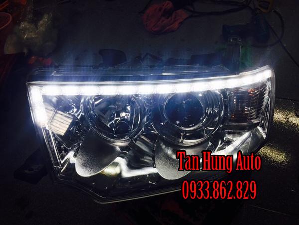 Độ Đèn Led Cho Xe Mitsubishi Pajero 2013 01