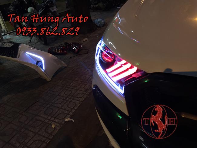 Độ Đèn Led Ford Ranger 2018 Kiểu Mustang