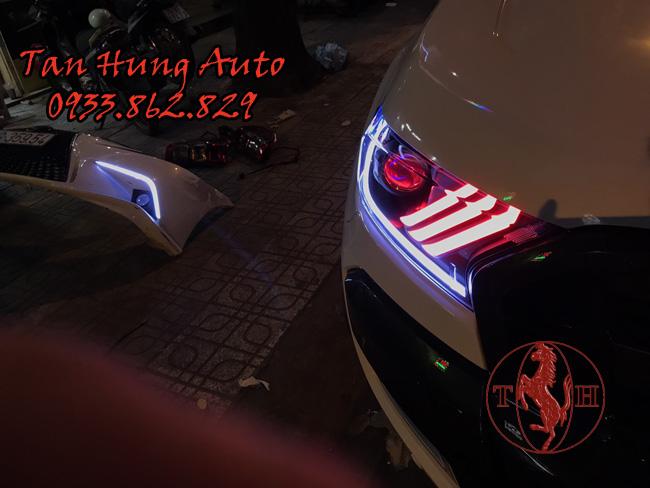 Độ Đèn Led Ford Ranger 2018 Kiểu Mustang 01