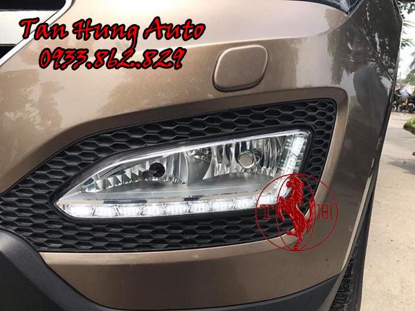 Độ Đèn Led Gầm Hyundai Santafe Tại Tphcm