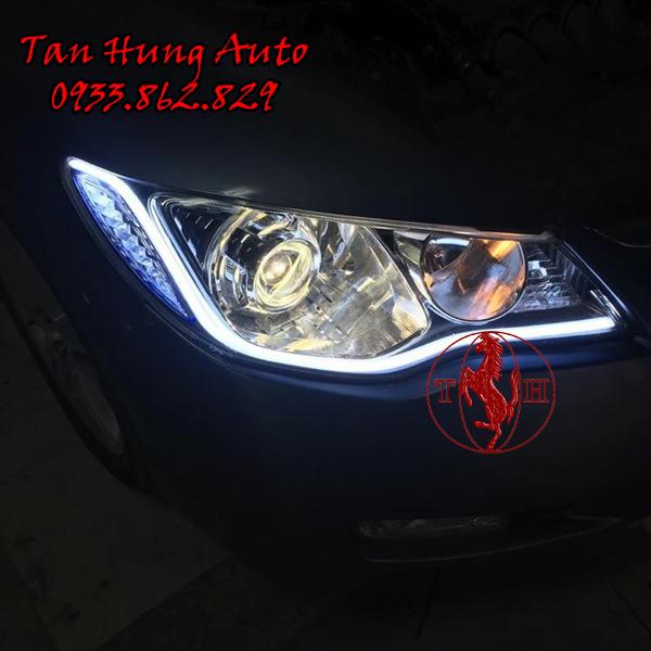 Độ Đèn Led Honda Civic 2012 Chuyên Nghiệp