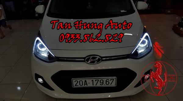 Độ Đèn Led Hyundai i10 Chuyên Nghiệp Tại Tphcm