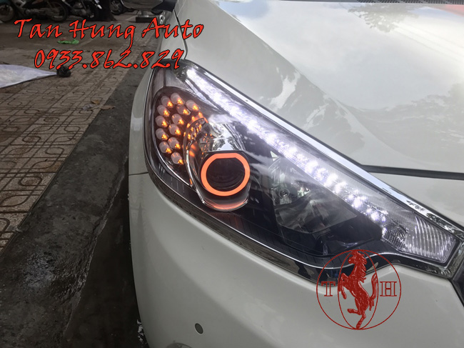 Độ Đèn Led Kia K3 Chuyên Nghiệp Tại Tphcm 02