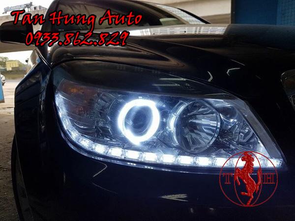 Độ Đèn Led Mercedes c200 Chuyên Nghiệp Tại Tohcm