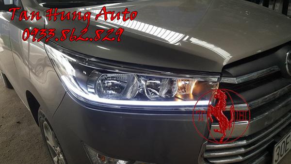 Độ Đèn Led Mí Xe Toyota Innova 2017