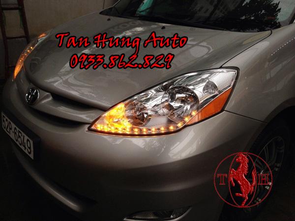 Độ Đèn Led Toyota Sienna 2009 Chuyên Nghiệp