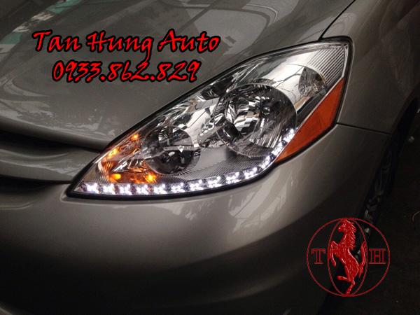 Độ Đèn Led Toyota Sienna 2009 Chuyên Nghiệp 01