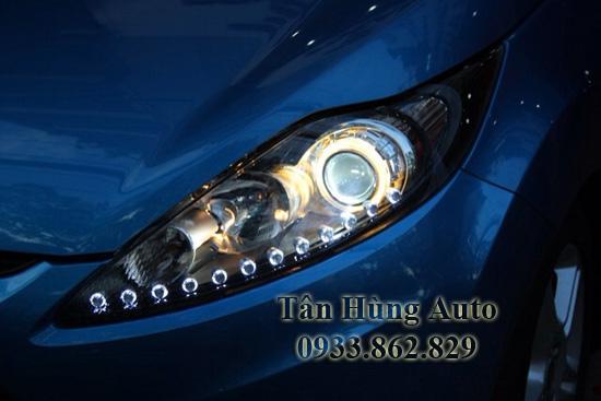 Độ Đèn Led Xe Ford Fiesta Tại Tphcm 01