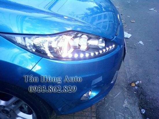 Độ Đèn Led Xe Ford Fiesta Tại Tphcm 03