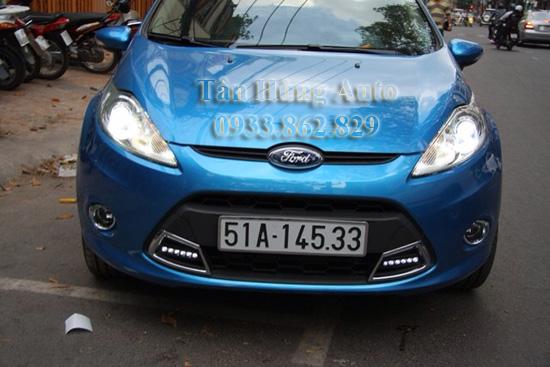 Độ Đèn Led Xe Ford Fiesta Tại Tphcm