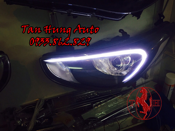 Độ Đèn Led Hyundai Accent Chuyên Nghiệp 01