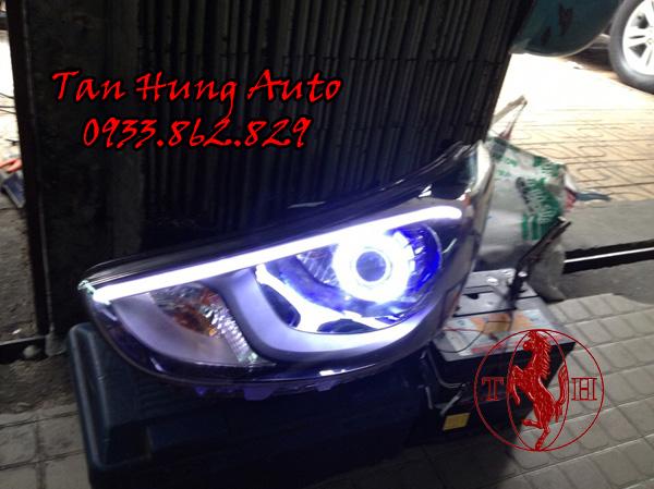 Độ Đèn Led Hyundai Accent Chuyên Nghiệp