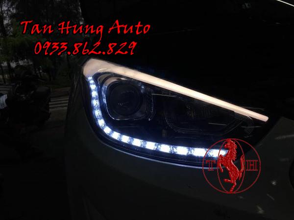 Độ Đèn Led Xe Hyundai Tucson 2014 Chuyên Nghiệp