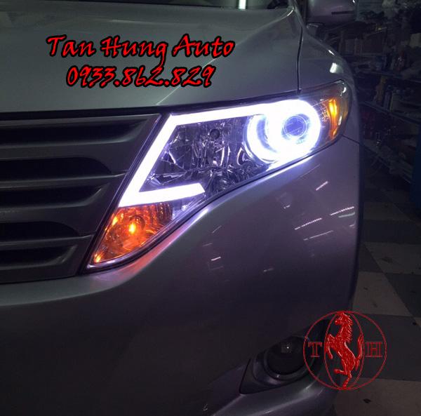 Độ Đèn Led Xe Toyota Venza Chuyên Nghiệp 02