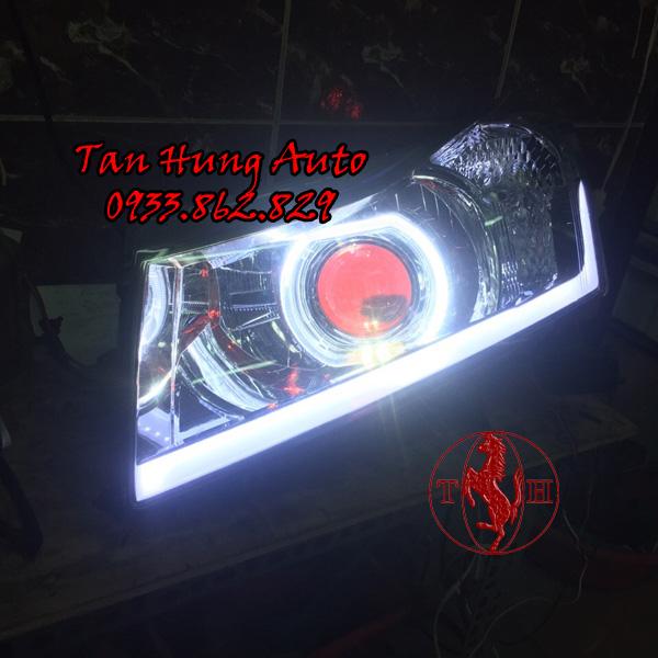 Độ Đèn Mặt Quỷ Chevrolet Cruze Chuyên Nghiệp 02
